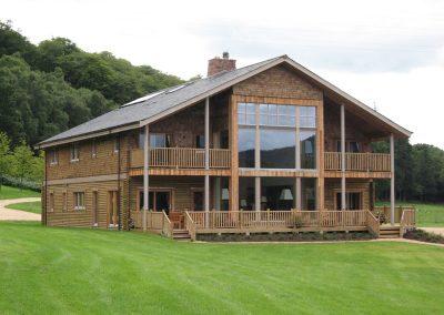Timber Fishing Lodge